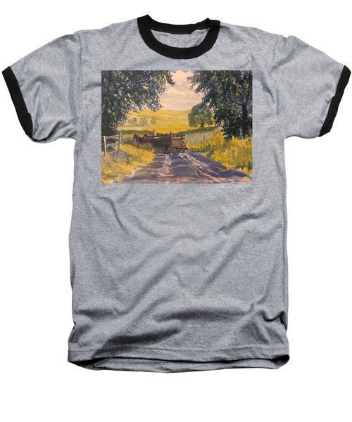 After Rain On The Wolds Way Baseball T-Shirt