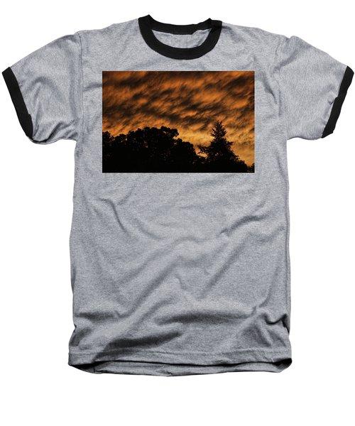 After Storm Sunset Baseball T-Shirt