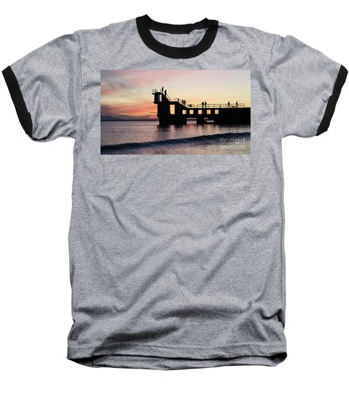 After Sunset Blackrock 4 Baseball T-Shirt