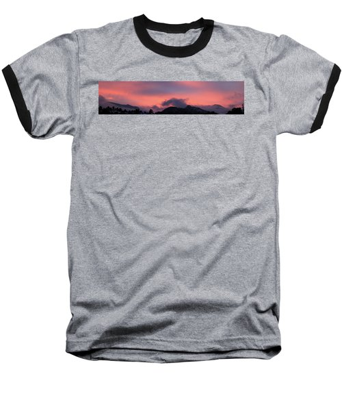 After Sunset - Panorama Baseball T-Shirt