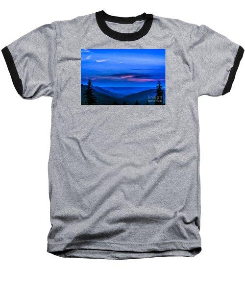 After Sunset Baseball T-Shirt by Thomas R Fletcher
