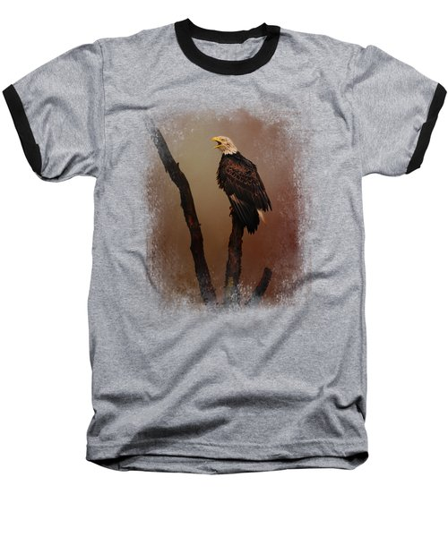 After The Autumn Storm Baseball T-Shirt by Jai Johnson