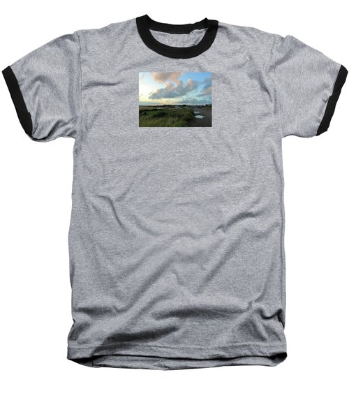 Baseball T-Shirt featuring the photograph After The Rain by Anne Kotan