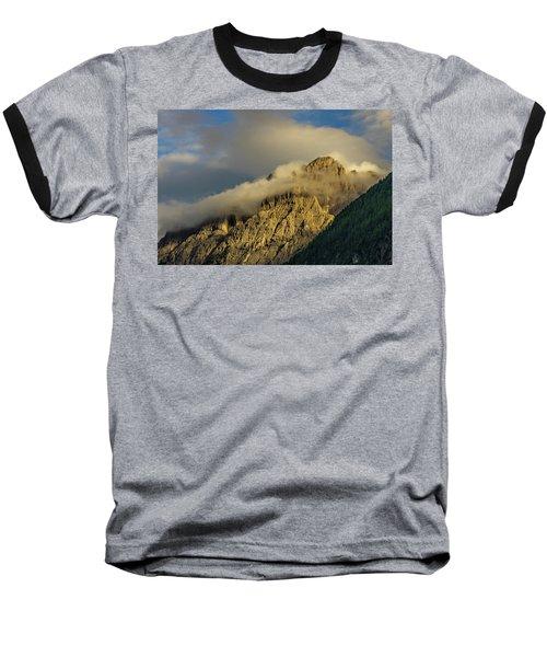 After The Rain In The Austrian Alps. Baseball T-Shirt by Ulrich Burkhalter