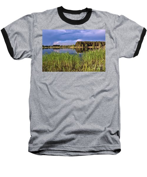 After The Rain Poetry Baseball T-Shirt