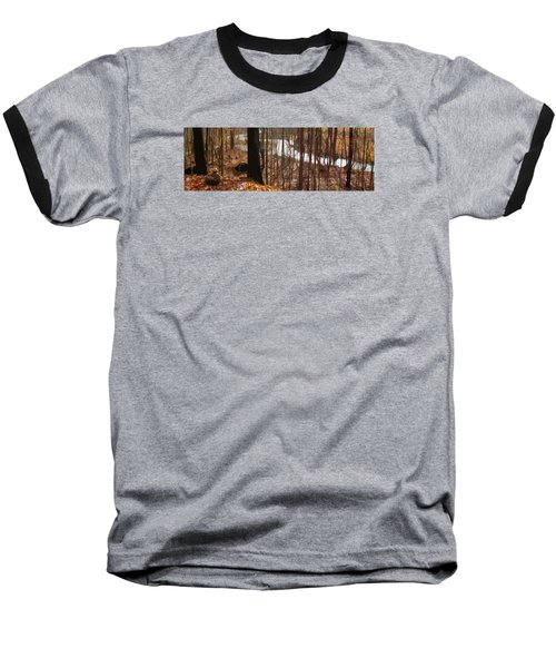 Baseball T-Shirt featuring the photograph After The Rain by Spyder Webb
