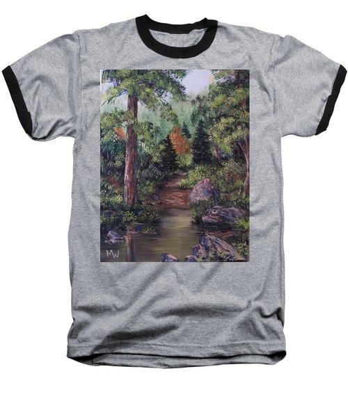 After The Rains Baseball T-Shirt by Megan Walsh