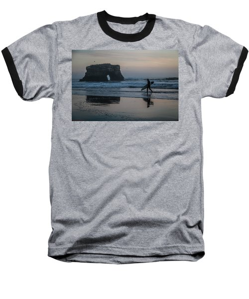 Baseball T-Shirt featuring the photograph After The Set by Lora Lee Chapman