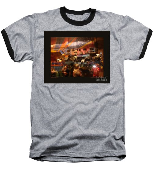 Baseball T-Shirt featuring the photograph After The Show by Patricia Overmoyer
