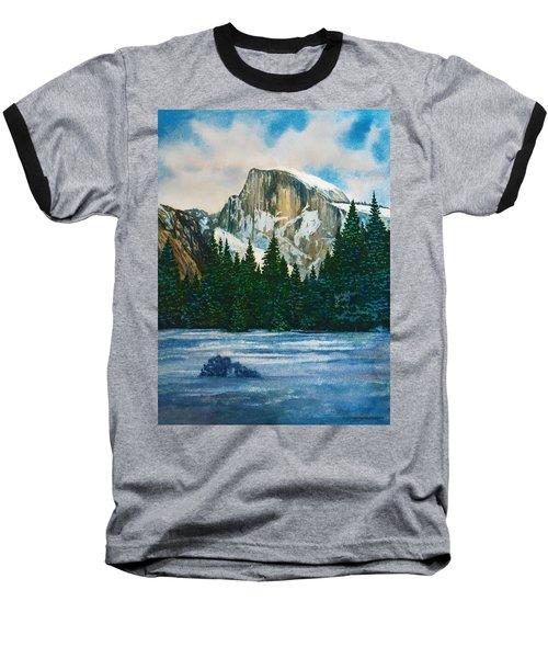 After The Snowfall, Yosemite Baseball T-Shirt by Douglas Castleman