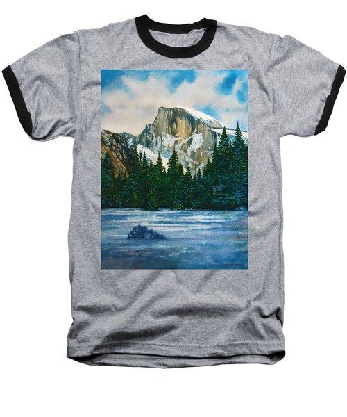 After The Snowfall, Yosemite Baseball T-Shirt