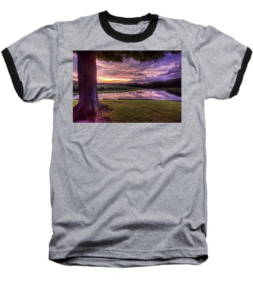 After The Storm At Mapleside Farms Baseball T-Shirt