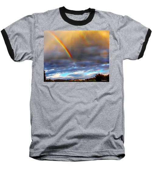 After The Storm El Valle New Mexico Baseball T-Shirt