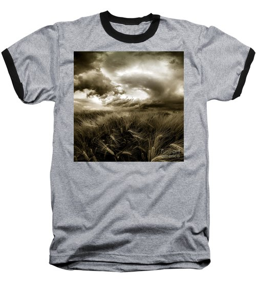 Baseball T-Shirt featuring the photograph After The Storm  by Franziskus Pfleghart