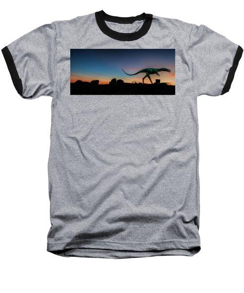 Afterglow Dinosaur Baseball T-Shirt