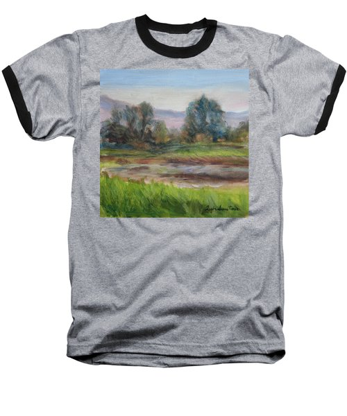 Afternoon At Sauvie Island Wildlife Viewpoint Baseball T-Shirt