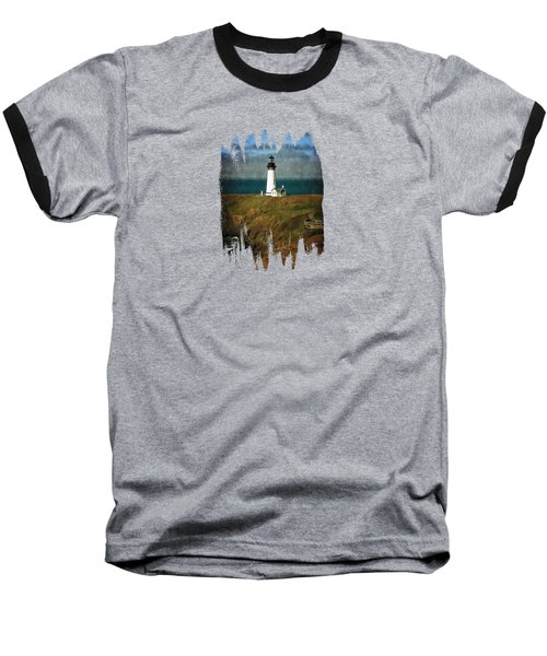 Afternoon At The Yaquina Head Lighthouse Baseball T-Shirt