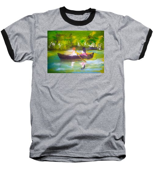 Afternoon By Colleen Ranney Baseball T-Shirt