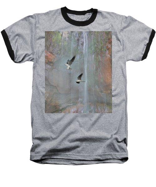 Afternoon Flight  Baseball T-Shirt
