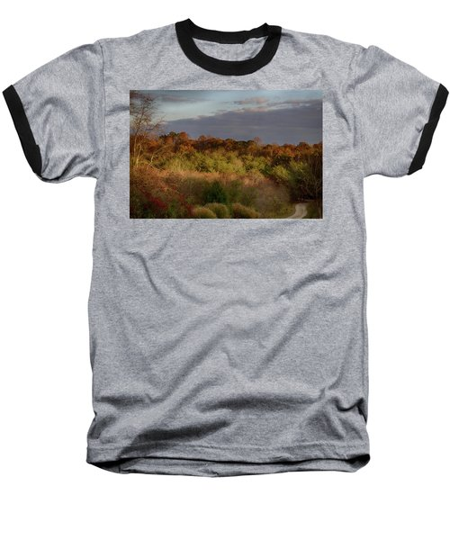 Afternoon Glow In Hocking Hills Baseball T-Shirt
