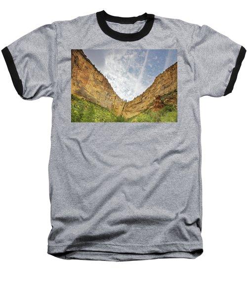 Afternoon In Boynton Canyon Baseball T-Shirt