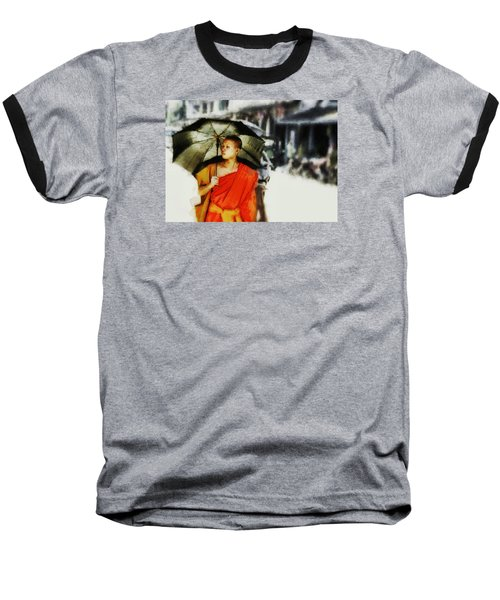 Baseball T-Shirt featuring the digital art Afternoon In Luang Prabang by Cameron Wood
