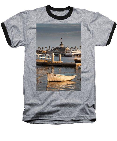 Afternoon Light Balboa Island Baseball T-Shirt