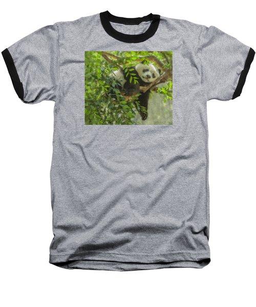 Afternoon Nap Baby Panda Baseball T-Shirt