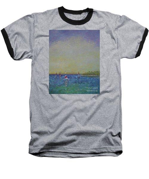 Afternoon Sailing Baseball T-Shirt
