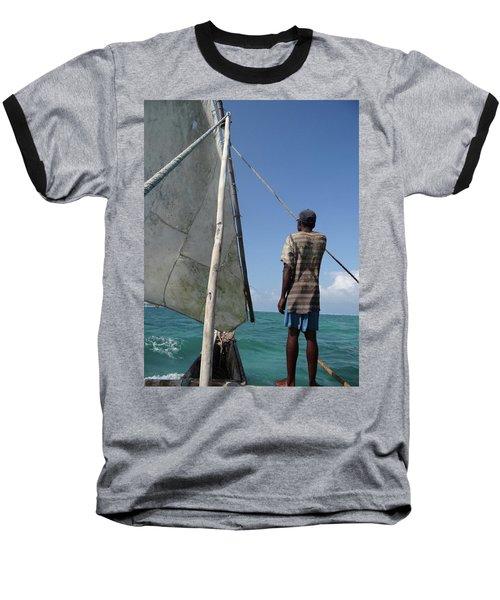 Afternoon Sailing In Africa Baseball T-Shirt by Exploramum Exploramum