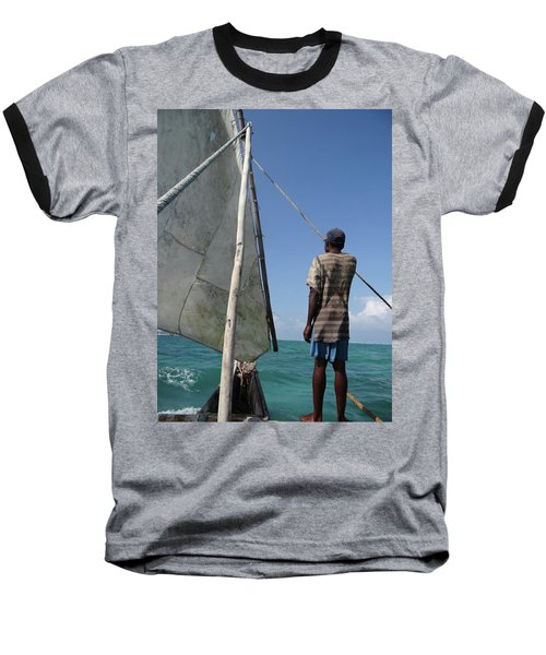 Afternoon Sailing In Africa Baseball T-Shirt