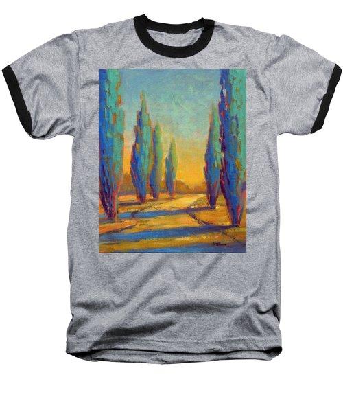 Afternoon Shadows 4 Baseball T-Shirt