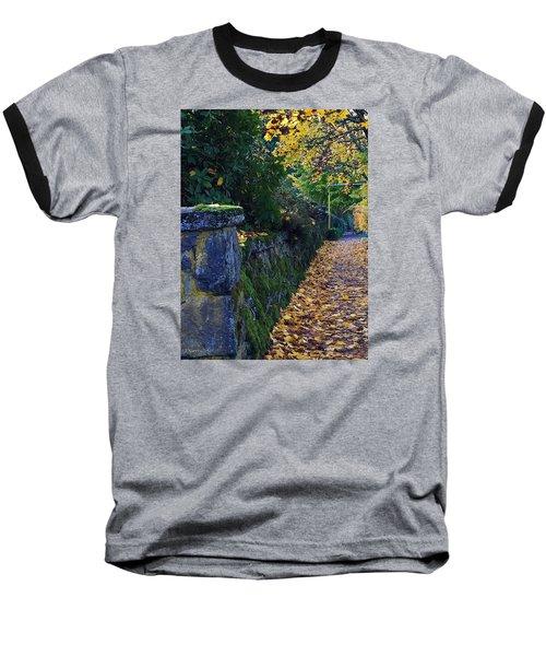 Afternoon Sidewalk  Baseball T-Shirt