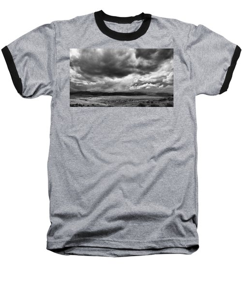 Afternoon Storm Couds Baseball T-Shirt