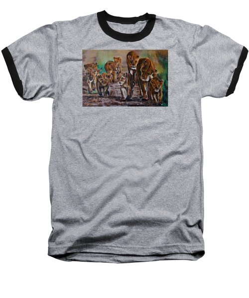Afternoon Stroll Baseball T-Shirt