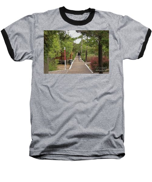 Afternoon Stroll Baseball T-Shirt