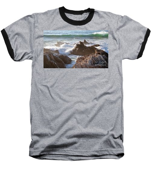Afternoon Sun At Montana De Oro Baseball T-Shirt