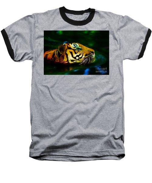 Afternoon Swim - Tiger Baseball T-Shirt