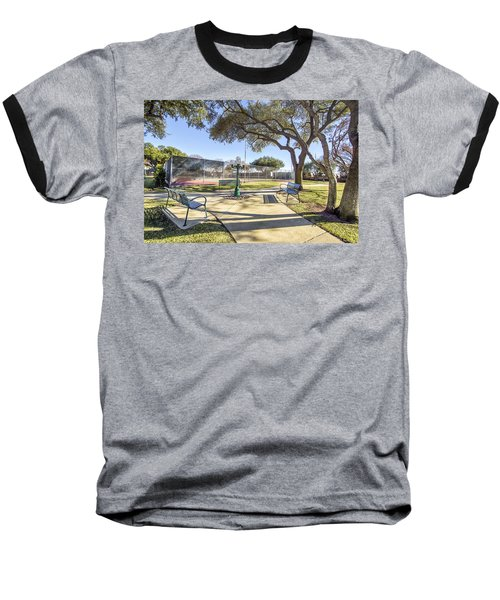 Afternoon Tennis Baseball T-Shirt by Ricky Dean