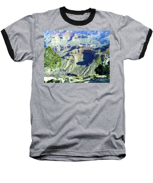 Afternoon View Grand Canyon Baseball T-Shirt