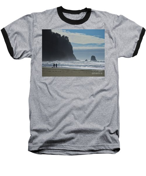 Cape Meares Baseball T-Shirt by Michele Penner