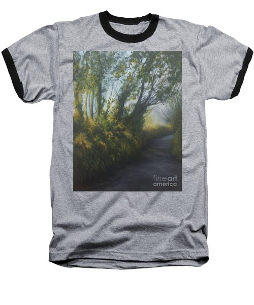 Afternoon Walk Baseball T-Shirt by Valerie Travers