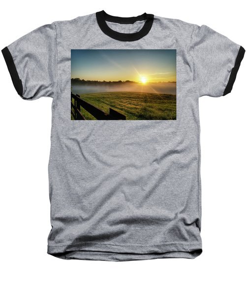 Afton Va Sunrise Baseball T-Shirt