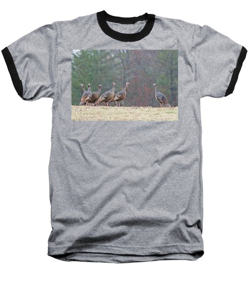 Baseball T-Shirt featuring the photograph Against The Crowd 1287 by Michael Peychich