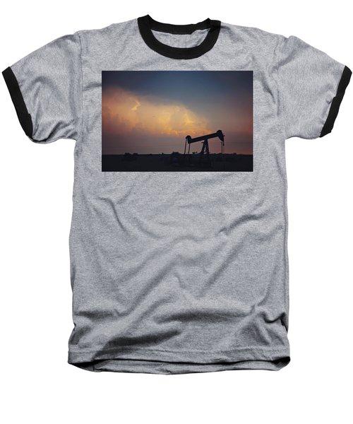 Against The Storm Baseball T-Shirt
