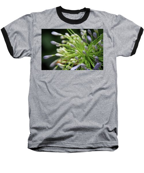 Baseball T-Shirt featuring the photograph Agapanthus, The Spider Flower by Yoel Koskas