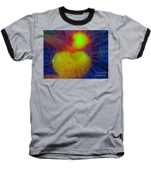 Agape Baseball T-Shirt by Fania Simon