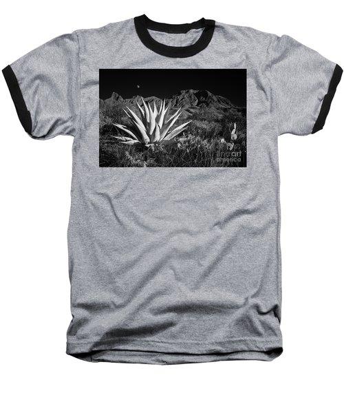 Agave And Moonrise Baseball T-Shirt
