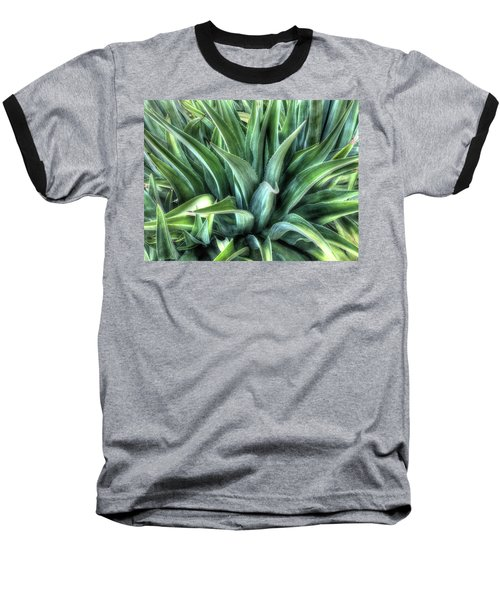 Baseball T-Shirt featuring the photograph Agave by Lynn Geoffroy