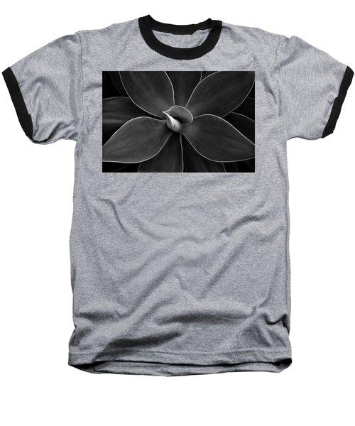 Agave Leaves Detail Baseball T-Shirt by Marilyn Hunt